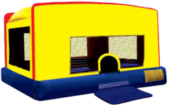Indoor/Outdoor Mini Bounce House (12x14x8) Ages 8 & Under