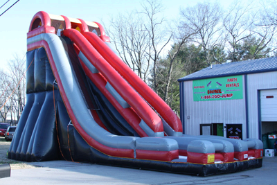 Super 35ft Inflatable Slide Rental