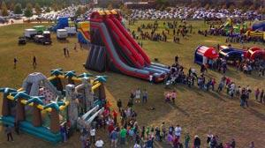 Large School Event for Jump Jump Bounce