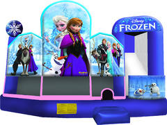 Disney Frozen 5 in 1 Dry Slide Combo