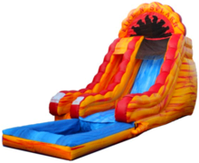 Fire N Splash 18'+ GIGANTIC Water Slide