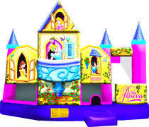 Disney Princess Castle 5 in 1 Waterslide Combo