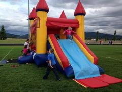 Castle Bounce, Climb and Dry Slide Combination