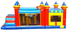 KIDZILLA Double Tunnel Obstacle Course and Bounce House