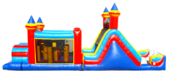 KIDZILLA Double Tunnel Obstacle and Slide Combo
