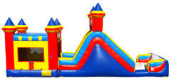 KIDZILLA Climb and Slide with Bounce House