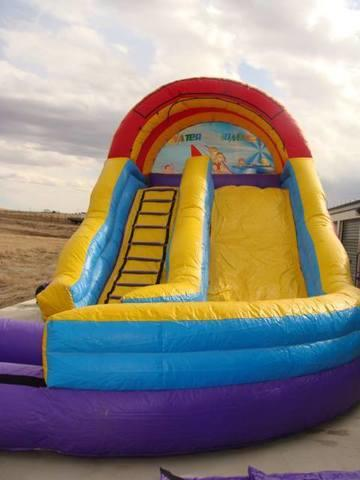 16ft wet or dry slide