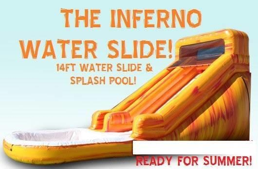 16' Inferno Waterslide