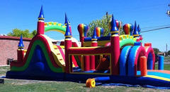 45 ft Castle Obstacle Course