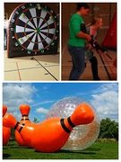 Prom Laser Tag, Foot Darts & Zorb Bowling