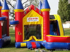Fun Castle With Slide-