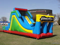 35 FT Double Slide-