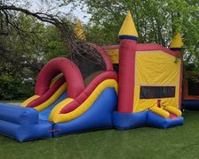 Bounce House Slide-Combo