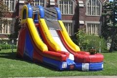 15ft wet or dry slide