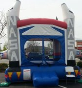 NASA Spaceship Bounce House