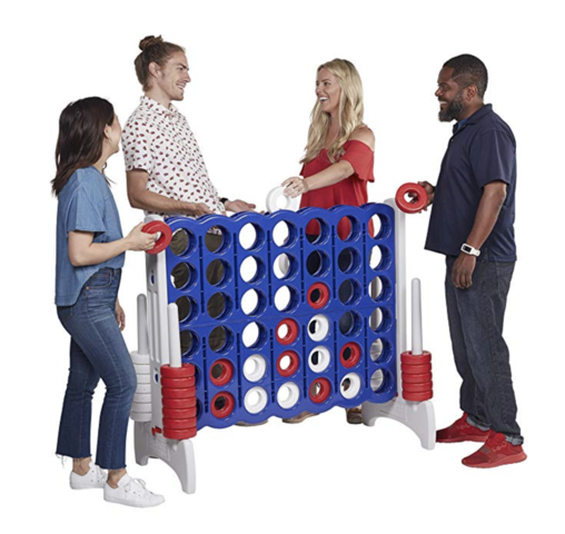 All American Blue& Red Connect- 4