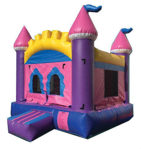 Pink Royal Bounce House