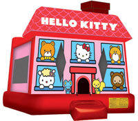Hello Kitty Bounce House ( Large)