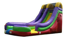 18FT SINGLE LANE WATER SLIDE