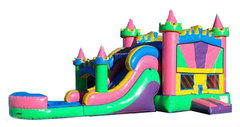 Princess Castle Large Combo w/pool