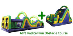 65ft Radical Run Challenge Obstacle Course DRY