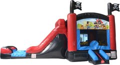 Pirate Bounce House Combo WET