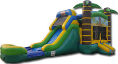 Tiki Bounce House Combo WET