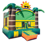 Tropical Sun Bounce House