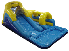 13ft slip and dip typhoon waterslide