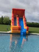 Volcano Pool Side Water Slide #WS29