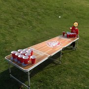 Beer Pong Table Portable Foldable