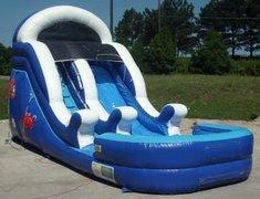 13' High Cool Ocean Dry Slide (SWD13001)
