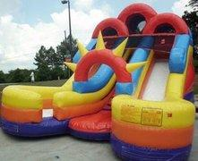 16' High Double Rush Water Slide (SWD16001)