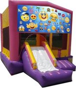 Emoji II Pink PartyTime Jump and Front Slide - Large