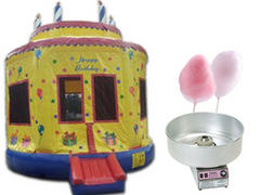 Birthday Cake Bounce Party Package