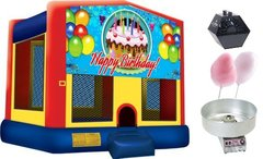 Birthday Theme Bounce Party Package