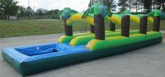 32' Long Tropical Dual Slip and Slide with Pool (SWSS321)