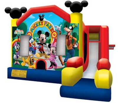 Disney Mickey Park Combo Bounce, Slide and Play (CD19001)