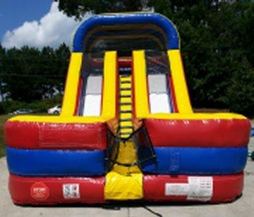 18' High Double Fun Dual Lane Dry Slide (SD18007)