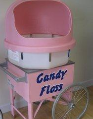 Cotton Candy Machine on Cart - High Volume