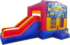 Emoji II Partytime Jump and Side Slide - Large