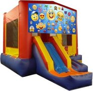 Emoji II Partytime Jump and Front Slide - Large