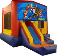 Scooby Doo Partytime Jump and Front Slide - Large