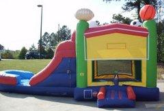 Sports Theme Bounce, Side Slide and Play Combo (CWD29003)