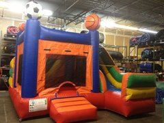 Sports Combo 4-in-1 Bounce House