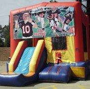Go Falcons Playtime Jump and Front Slide - Medium