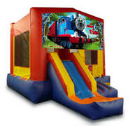 All Aboard the Train Playtime Jumper and Front Slide - Medium