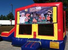 Halloween Partytime Jump and Side Slide - Large