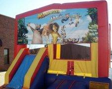 Madagascar Partytime Jump and Front Slide - Large