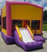 Pink PartyTime Jump and Front Slide - Large (CD151601)